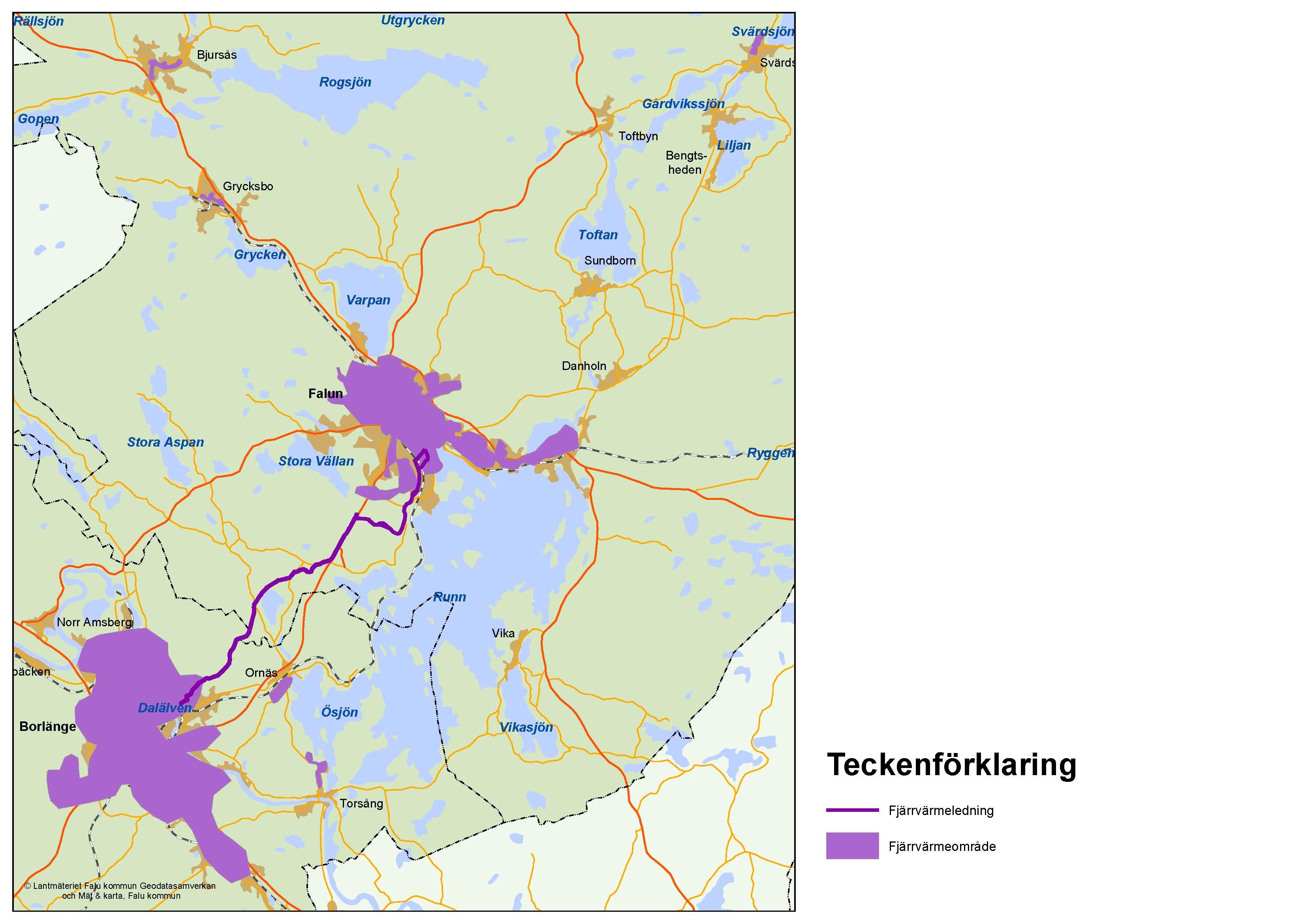 Karta Borlange.Energidistribution Startsida